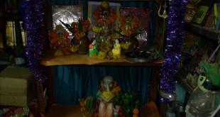 Eco-friendly Ganesha at Home