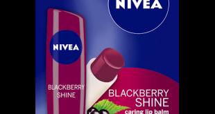 Nivea Blackberry Shine Lip Care Review