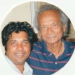 Aziz Baksh with Naushad Sahab