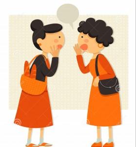 2 Ladies Talking