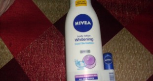 Nivea Whitening Cool Sensation Body Lotion Review