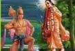 Sage Narada and Lord Hanuman