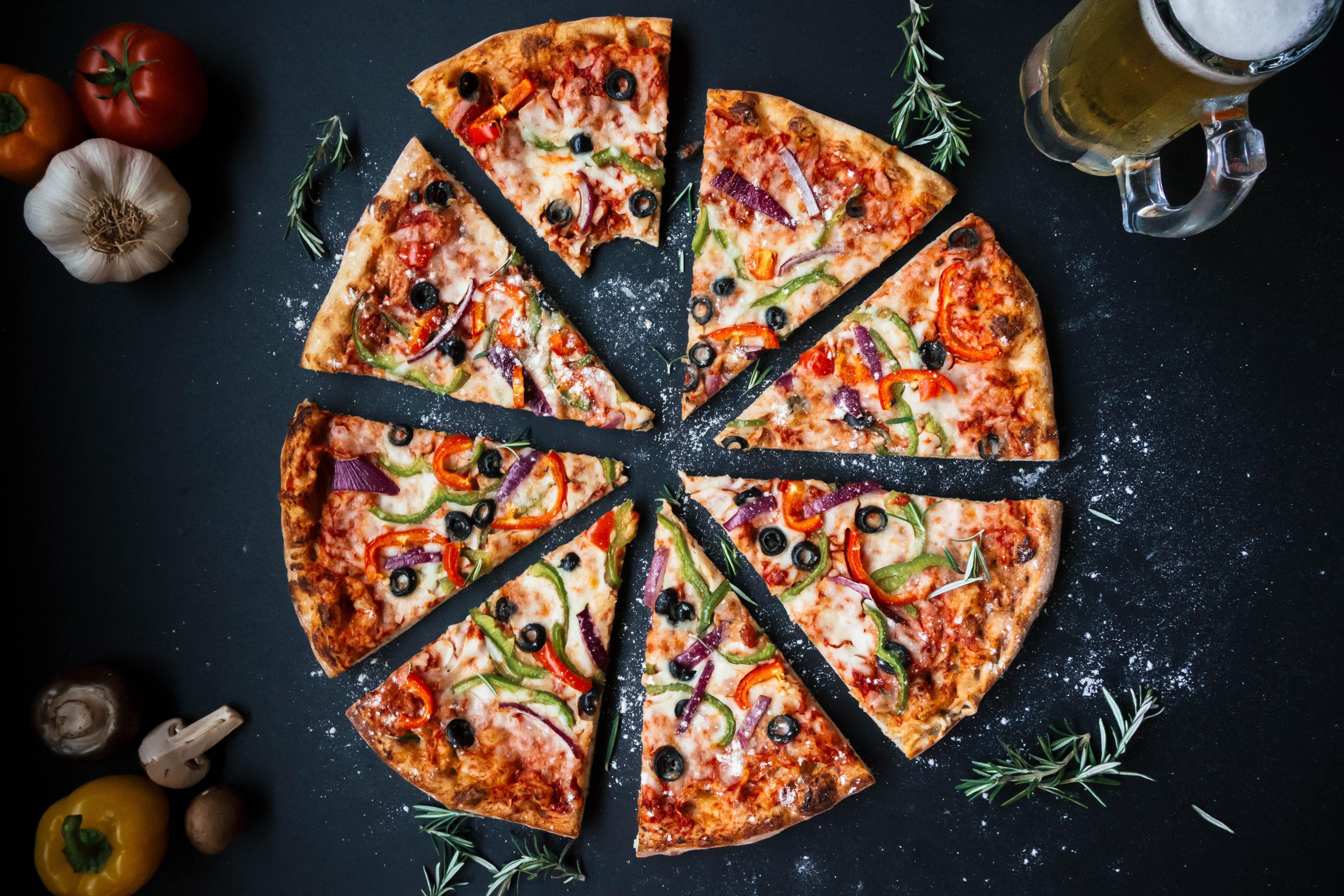Healthy Personal Pizzas